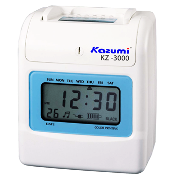kazumi time recorder kz 3300 - Time Card Machine