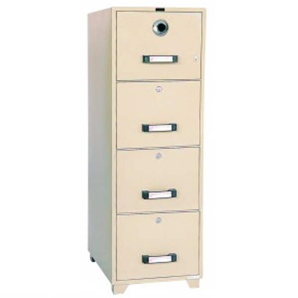UCHIDA 4 Drawer Fire Resistant Filing Cabinet B4 4D Photo